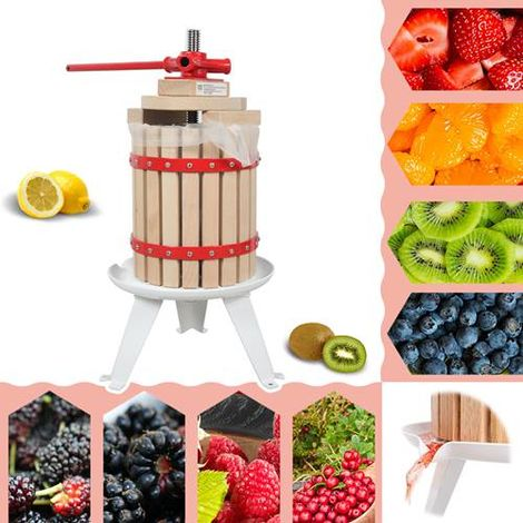 WestWood Fruit Press Tool 6 Litre Red
