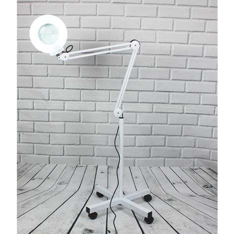 WestWood Magnifier Floor Lamp White ML01