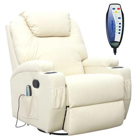 WestWood Massage Leather Sofa Electric 01 Beige