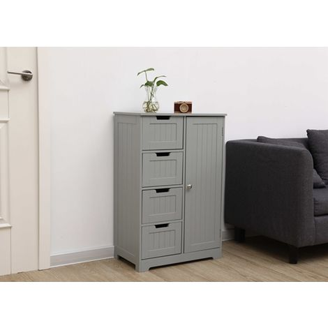 WestWood MDF Bathroom Storage BS-02 Grey