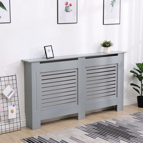 WestWood MDF Radiator Cover Large Grey