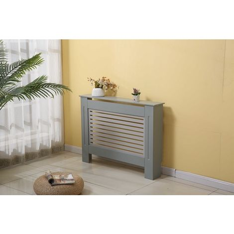 WestWood MDF Radiator Cover Small Grey
