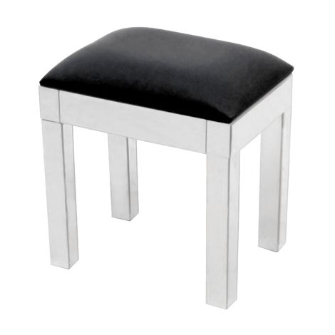 WestWood Mirrored Stool MS01 Silver