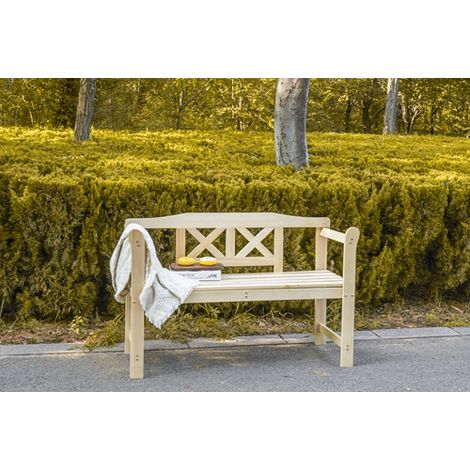 WestWood Outdoor Indoor 2 Seater Wooden Garden Bench C031