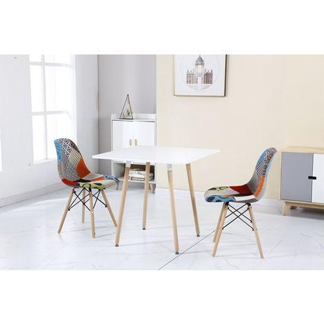 WestWood Patchwork Chair PC001 1 Pair Multi Colour