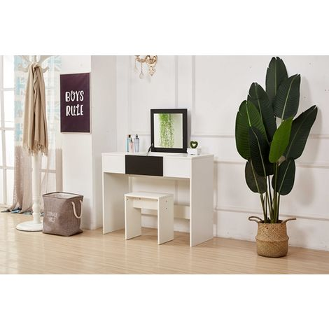 WestWood PB Dressing Table DT10 Black And White