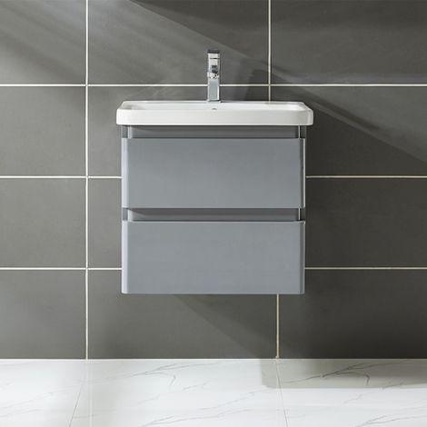 WestWood Vanity Unit 60CM MDF Wall VU01 Grey