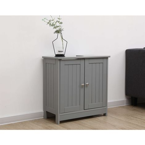 WestWood Vanity Unit Cabinet MDF MVC-01 Grey