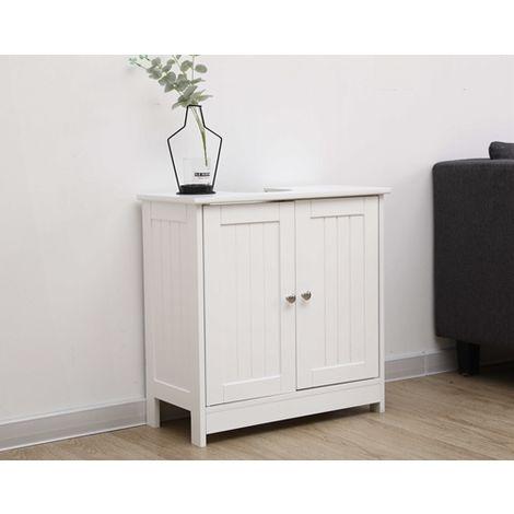 WestWood Vanity Unit Cabinet MDF MVC-01 White