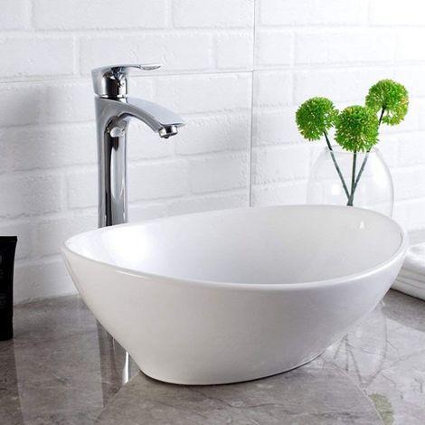 WestWood Wash Basin Sink Countertop WW-WBS01 White