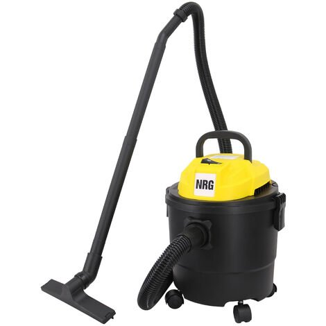 Wet and Dry Vacuum Cleaner, 3 in 1 15L Capacity Vacuum Cleaners with Blowing Fuction & Powerful Suction Include Floor Brush Crevice Tool 1250W