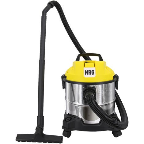 Wet and Dry Vacuum Cleaner, 3 in 1 20L Capacity 18KPa Vacuum Cleaners with Blowing Function & 18KPa Suction include Floor Brush Crevice Tool 1200W