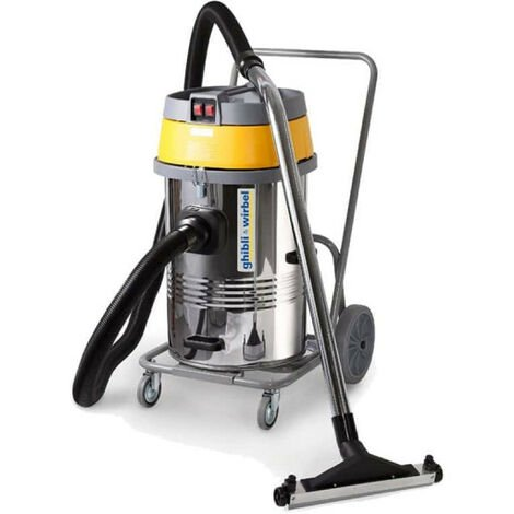 Wet and Dry Vacuum Cleaner GHIBLI WIRBEL - 80L - 3450W - AS 600 IK CBM