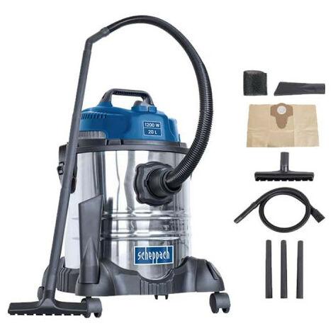 Wet and dry vacuum cleaner SCHEPPACH 20L - 1200W - ASP20-ES
