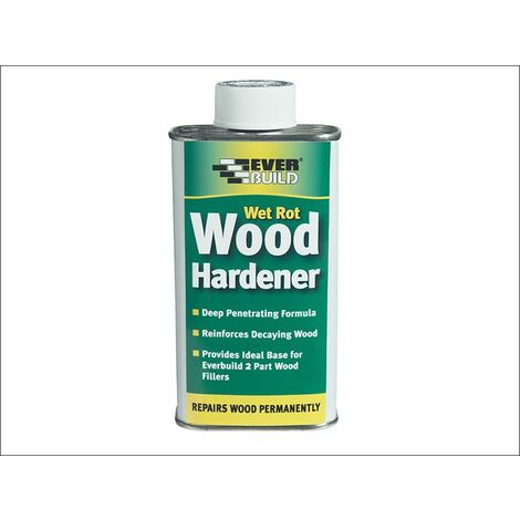 Wet Rot Wood Hardener 250ml (EVBWOODHARD2)