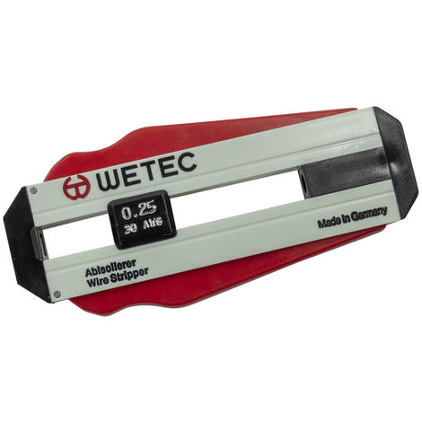Wetec Präzisions-Abisolierer , 0,60 mm/AWG 22