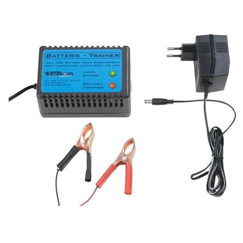 Wetekom Chargeur déchargeur automatique de batterie 12V DC