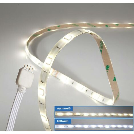 Wetelux Ruban LED adhésif - 60 cm - blanc chaud