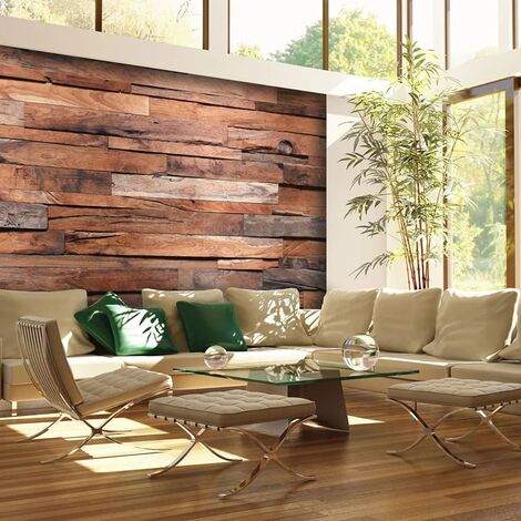 W&G Mural fotográfico Wooden Wall