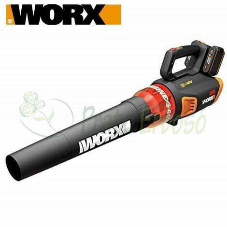WG584E - Souffleur à batterie 20 V + 20 V