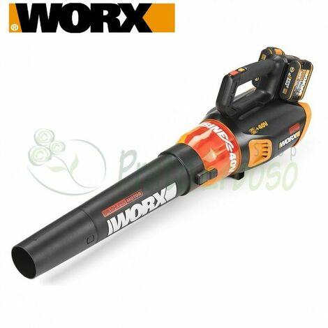 WG584E.9 - Soffiatore a batteria 20 V + 20 V