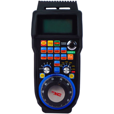 WHB04B CNC Wireless Electronic 4-Axis Manual Handwheel Controller USB for MACH3