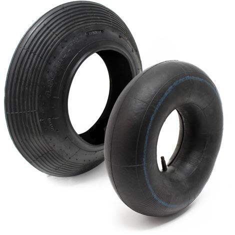 Wheelbarrow - Tyre with Inner Tube Size400x100 4.00-8