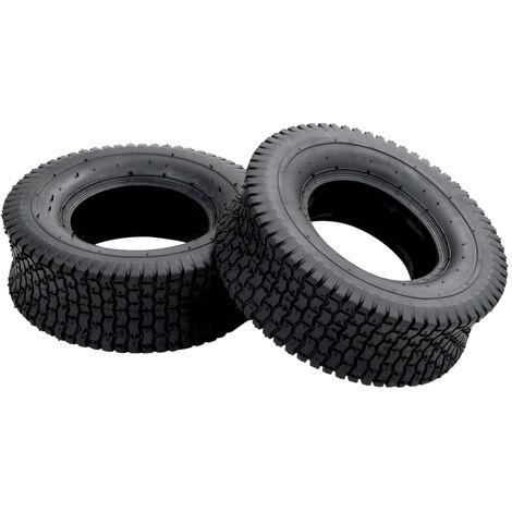 Wheelbarrow Tyres 2 pcs 13x5.00-6 4PR Rubber