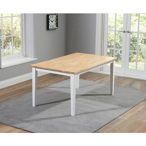 Whichestore Solid Hardwood & Painted 150Cm Table