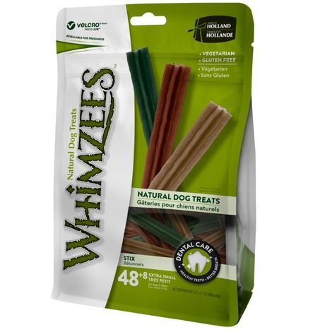 Whimzees Stix Dog Chew Treats (48 Pieces) (One Size) (Multicoloured)