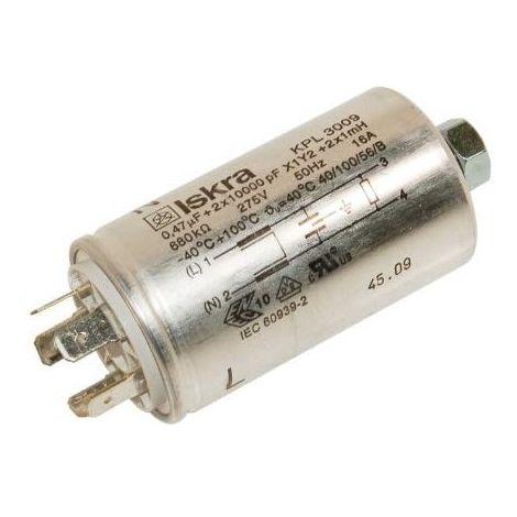 Whirlpool 481212208004 Filter Antiparasitika für Mikrowellenherd