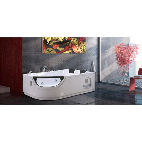 WHIRLPOOL BATH CHROMOTHERAPY Model ELITE 120 x 180 cm