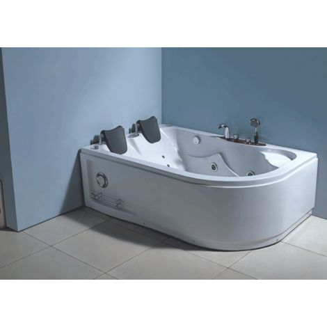 WHIRLPOOL BATH CHROMOTHERAPY Model HAVANA 170 x 115 cm h 63