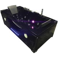 "WHIRLPOOL BATH CHROMOTHERAPY Model ""HYPNOTIC"" 180 X 90 cm"