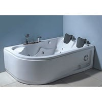 WHIRLPOOL BATH CHROMOTHERAPY Model VARADERO 170 x 115 cm h 63