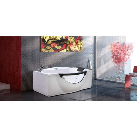 WHIRLPOOL BATH Model JUNGLE 180 x 96 cm (h 68 cm)