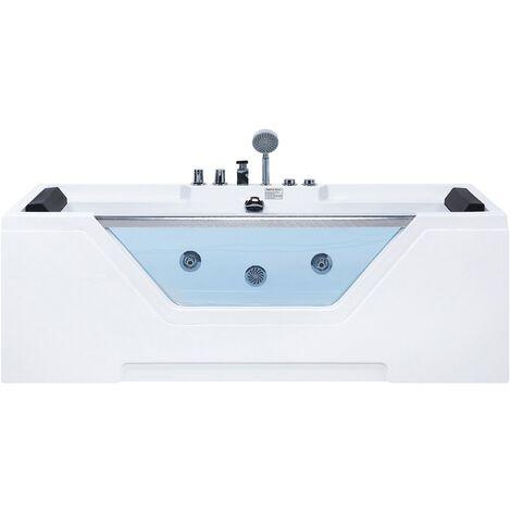 Whirlpool Bath White GRENADA