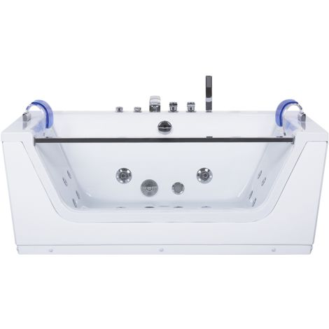 Whirlpool Bath with LED White FRIGATE