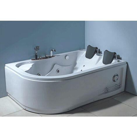 WHIRLPOOL BATHTUB 170 x 115 cm NEW Model VARADERO 2 PERSONS