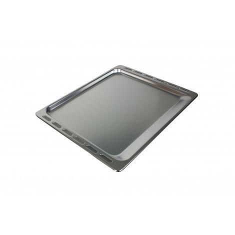 Whirlpool Bauknecht Backblech Aluminium 11mm hoch 481241838127 - 445mmx375mmx11mm