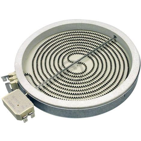 Whirlpool Bauknecht Strahlheizkörper, Heizung, Heizelement Ø180mm, 1700W, 230V für Glaskeramikkochfeld - 481231018889