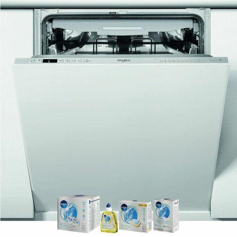 WHIRLPOOL Lave-vaisselle tout intégrable encastrable 43dB 14 couverts 60cm Tiroir à couverts