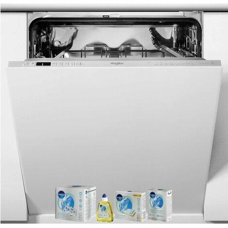 WHIRLPOOL Lave-vaisselle tout intégrable encastrable 44dB 14 couverts 60cm 6eme Sens