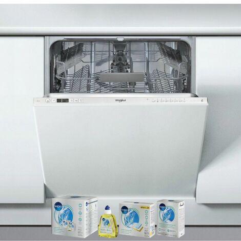 WHIRLPOOL Lave-vaisselle tout intégrable encastrable 46dB 14 couverts 60cm Moteur Induction