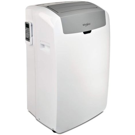 WHIRLPOOL - PACW212CO CLIMATISEUR PORTABLE, 12K BTU OU 3,5KW, R290, COOL ONLY, BLANC, A