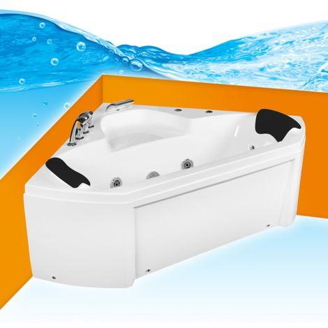 Whirlpool Pool Badewanne Eckwanne Wanne A1402N 135x135