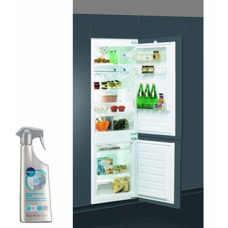 WHIRLPOOL Réfrigérateur frigo combiné intégrable 275L Froid brassé 6eme sens
