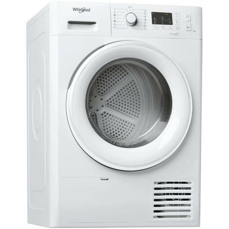 WHIRLPOOL Sèche-linge frontal Condensation 7kg Easy-Cleaning 6eme Sens - Blanc