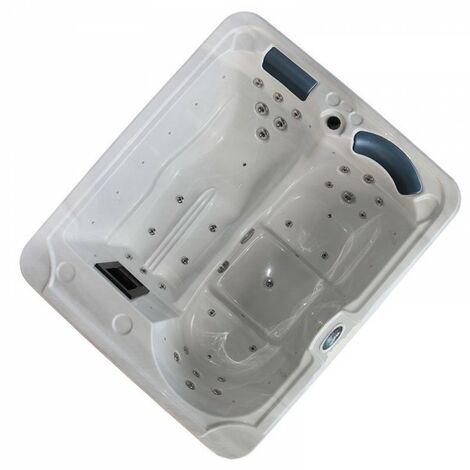 Whirpool March Spa für 3 Personen Pool LED Beleuchtung Massage 2 kW March-80704-Schwarz