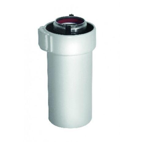 White ALU/PVC duct - UBBINK : 227350